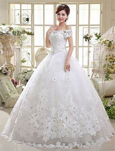 ball gown wedding dresses lace princess bridal gown off the shoulder ivory short sleeve beaded