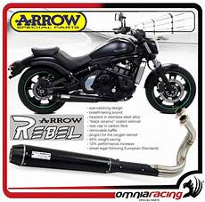 arrow rebel complete exhaust approved kawasaki vulcan 650