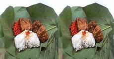 Cicipi Lezatnya Nasi Jamblang Bungkus Daun Jati Khas