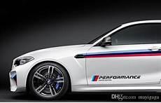 autocollant bmw m performance acheter style de voiture m performance de couleur