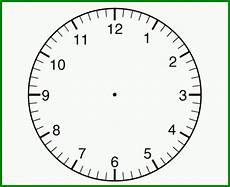 Fabelhaft Uhr Zum Selber Basteln Uhr Vorlage Zum
