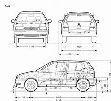 Blueprint Volkswagen Polo