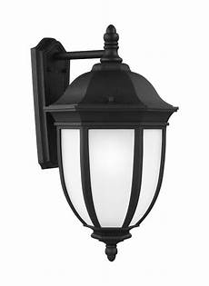 8829301 12 extra large one light outdoor wall lantern black