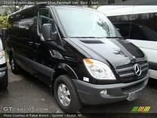 Black  2010 Mercedes Benz Sprinter 2500 Passenger Van