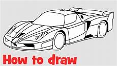 How To Draw A Enzo