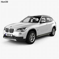 bmw x1 2013 3d model vehicles on hum3d