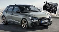 2019 audi a1 first official images of new plush hatch carscoops
