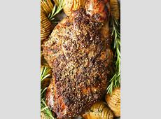 simply glazed leg of lamb recipe_image
