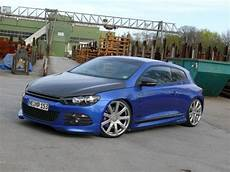 Blue Emotion 2008er Vw Scirocco Tuning K 252 Nstliche
