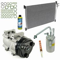 auto air conditioning repair 1995 ford mustang lane departure warning new ac a c compressor kit fits 1999 2004 ford mustang v6 3 8l 04 3 9l ebay
