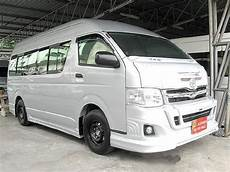 toyota hiace commuter 2 5 d4d baujahr 2011 lieferwagen