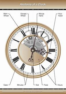 The Parts Of A Wall Clock