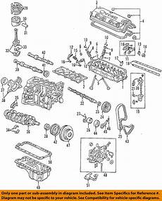 98 honda accord engine diagram honda oem 98 02 accord vvt variable valve timing valve assembly 15810paaa02 ebay