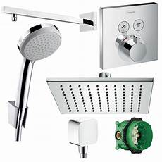 hansgrohe duscharmatur set unterputz thermostat select 300