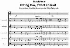 swing low sweet chariot reinwarth noten zum