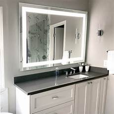 front lighted led bathroom vanity mirror 32 quot 24