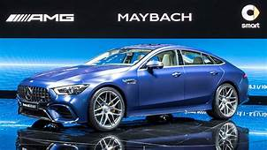 2019 Mercedes AMG GT 4 Door Coupe Storms Geneva With 630 HP