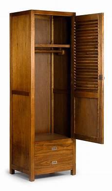 mawan armoire 1 porte en bois