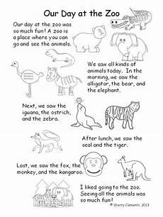 animals phonics worksheets for kindergarten 14220 zoo animals kindergarten kindergarten reading kindergarten themes 1st grade activities