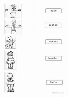 family matching english esl worksheets for distance learning and physical classrooms