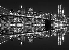 wall mural skyline new york city photo wallpaper cityscape black white large ebay