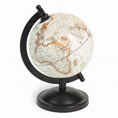 globe terrestre mappemonde h 20 cm athinigane maisons du
