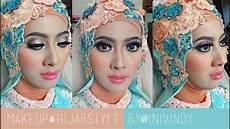 Tutorial Makeup Hijabstyle Untuk Resepsi Pengantin