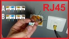 Branchement Prise Rj45 Comment Raccorder Une Prise Rj45