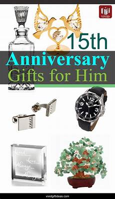 15 Wedding Anniversary Gift Ideas For Him
