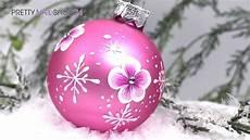 trendstyle weihnachtskugeln selbst gestalten
