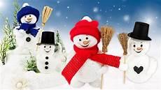 basteln weihnachten kinder ideen mit herz niedliche schneem 228 nner basteln perl