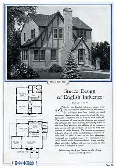 half timbered house plans stucco english half timbered cottage bilt well catalog