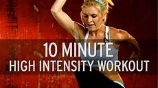 Xhit 10 Minute High Intensity Workout