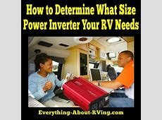 how much inverter do i need