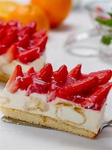 Windbeutel Torte Mit Erdbeeren Und Eierlik 246 R