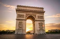 Hdr Photography Arc De Triomphe At Sunset