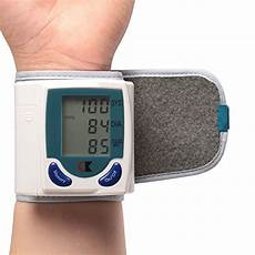 do automatic blood pressure machines read high gpct wrist blood pressure cuff wrist monitor automatic digital sphygmomanometer bp machine