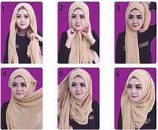 Kreasi Jilbab Segi Empat Desain Simple Elegan Modis Dan