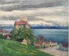 impressionismus 214 lgem 228 lde burg meersburg bodensee alpen
