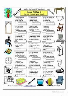esl riddles worksheets 10892 house riddles 1 easy worksheet free esl printable worksheets made by teachers