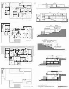 tugendhat house plan tugendhat house 1930 ludwig mies van der rohe brno