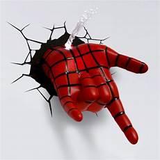 marvel 3d wall nightlight spider man target