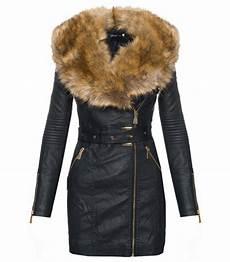 damen kunstleder jacke 252 bergangsjacke damen mantel