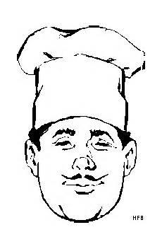 Malvorlagen Weihnachten Chefkoch Chefkoch Ausmalbild Malvorlage Beruf