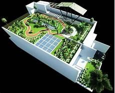 Jasa Desain Gambar Taman Roof Garden