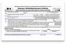 how to fill out 2019 2020 irs form w 4 pdf expert