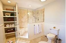 Bathroom Ideas No Tub remove tub from master bathroom project highlight