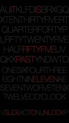 white lock screen timely add a beautiful text based lock screen clock to