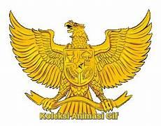 Garuda Pancasila Emas Koleksi Animasi Gif
