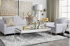 White And Gold Home Decor Ideas by This Room With Mixed Gold And Silver Metals Grounded